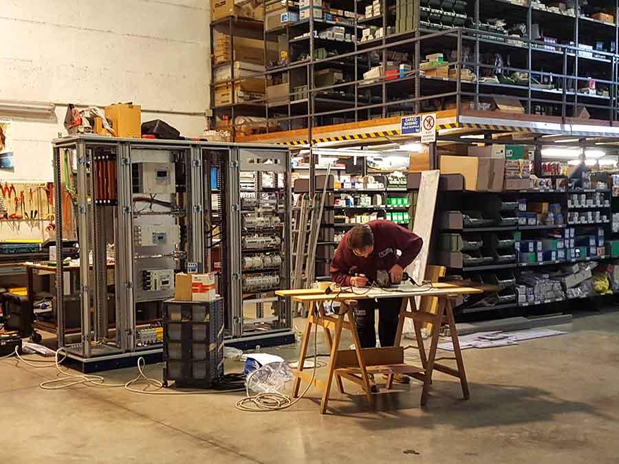 Cablaggio quadri elettrici 06