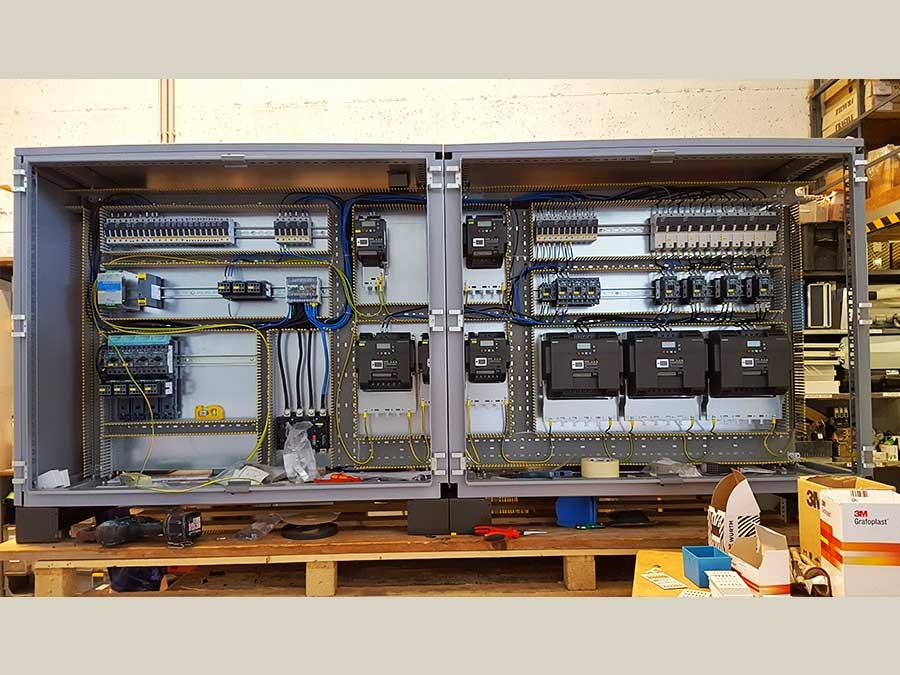 Cablaggio quadri elettrici 07