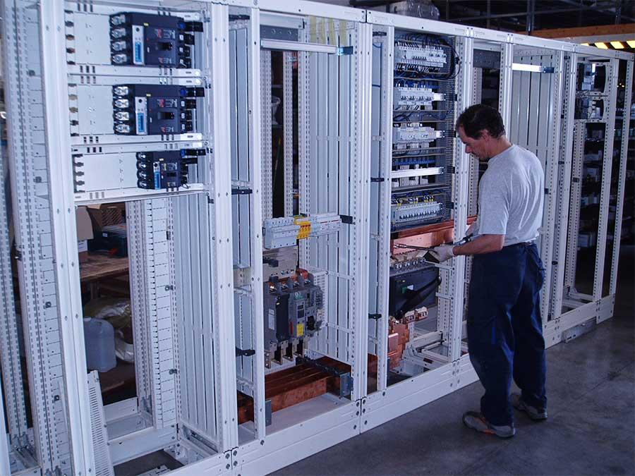 Cablaggio quadri elettrici 34