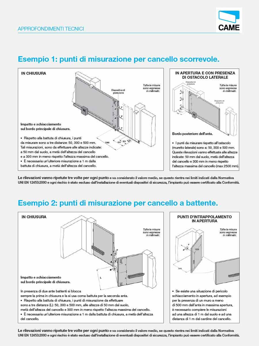 Schema Elettrico Cancello A Due Ante : Luma impianti elettrici normativa europea cancelli e