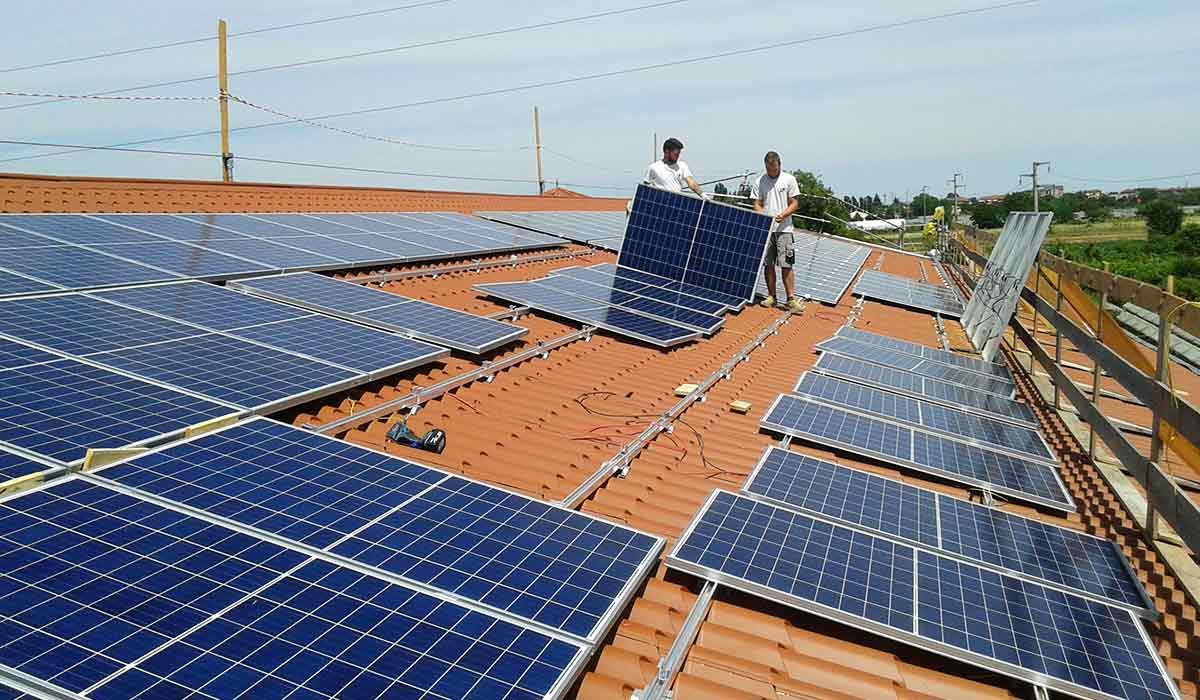 Impianto Fotovoltaico 34,72kW Nuovo Fabbricato – Cadidavid (VR)