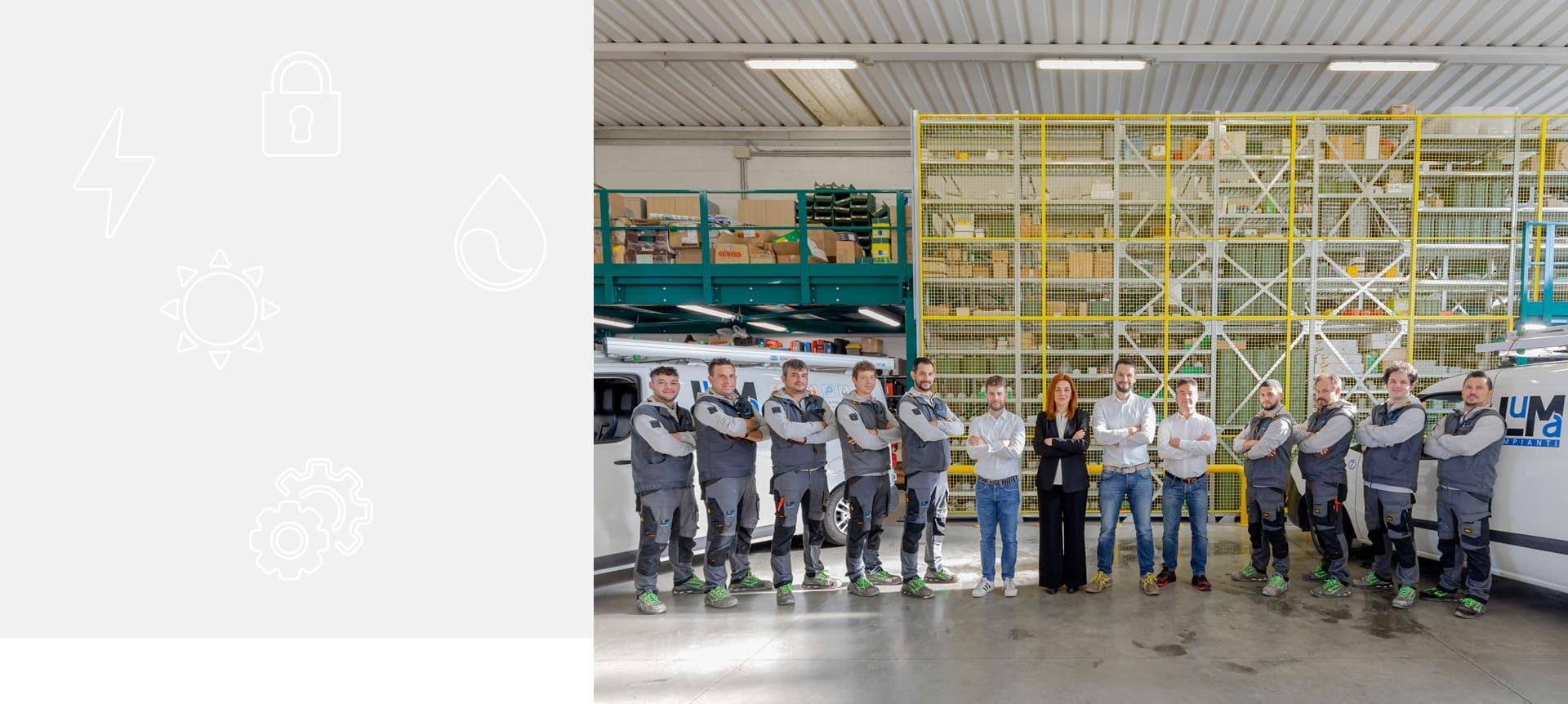 azienda luma impianti elettrici a verona
