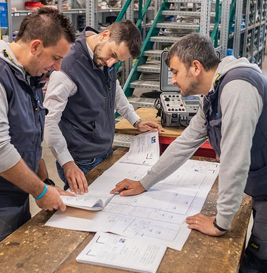 Servizio: Progettazione impianti